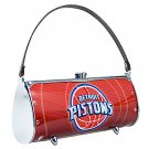 Detroit Pistons Littlearth Fender Flair Purse Bag Swarovski Crystals