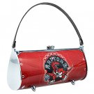 Toronto Raptors Littlearth Fender Flair Purse Bag Swarovski Crystals