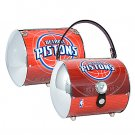 Detroit Pistons Littlearth Super Cyclone License Plate Purse Bag