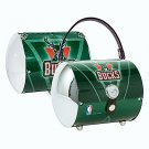 Milwaukee Bucks Littlearth Super Cyclone License Plate Purse Bag