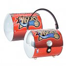 Philadelphia 76ers Littlearth Super Cyclone License Plate Purse Bag
