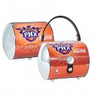 Phoenix Suns Littlearth Super Cyclone License Plate Purse Bag