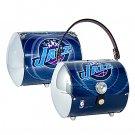 Utah Jazz Littlearth Super Cyclone License Plate Purse Bag