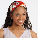Kansas City Chiefs FanBand Football Jersey Headband