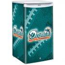Miami Dolphins Counter Top Fridge Compact Refrigerator