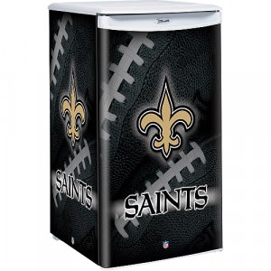 New Orleans Saints Counter Top Fridge Compact Refrigerator