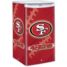 San Francisco 49ers Counter Top Fridge Compact Refrigerator