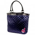Cleveland Indians Quilted Tote Bag Purse