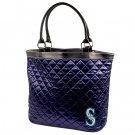 Seattle Mariners Littlearth Quilted Tote Bag Purse