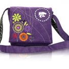Kansas State University KSU Wildcats Corduroy Messenger Bag Purse