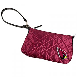 Arizona Cardinals Littlearth Quilted Purse Wristlet