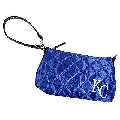 Kansas City Royals Littlearth Quilted Purse Wristlet