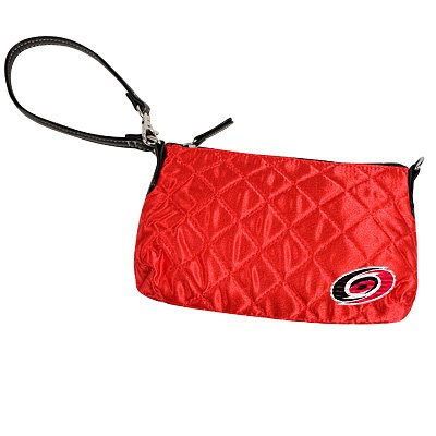 Carolina Hurricanes Littlearth Quilted Purse Wristlet