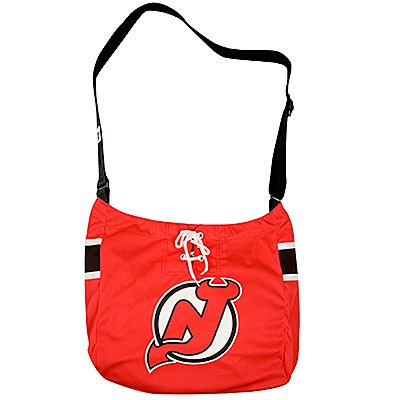 New Jersey Devils Littlearth Hat Trick Jersey Tote Bag Purse Gift