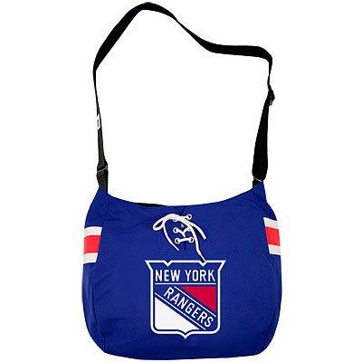 New York Rangers Hat Trick Hockey Jersey Tote Bag Purse