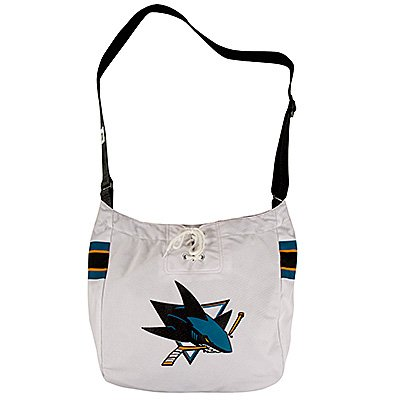 San Jose Sharks Littlearth Hat Trick Hockey Jersey Tote Bag Purse Gift