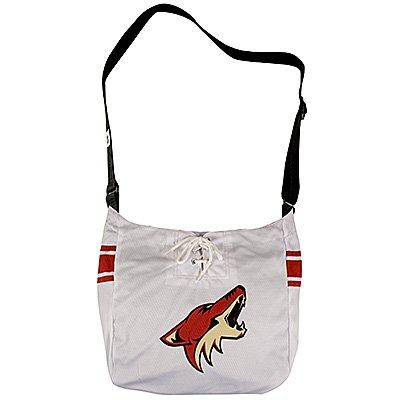 Phoenix Coyotes Littlearth Hat Trick Hockey Jersey Tote Bag Purse Gift