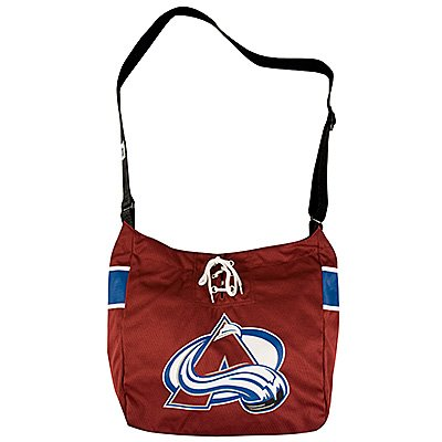 Colorado Avalanche Littlearth Hat Trick Hockey Jersey Tote Bag Gift