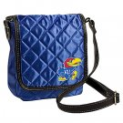 University of Kansas Jayhawks Littlearth Quilted Cross-Body Purse Bag