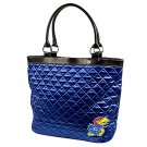 University of Kansas Jayhawks Littlearth Quilted Tote Bag Purse