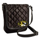 University of Missouri Mizzou Tigers Littlearth Quilted Cross-Body Purse Bag