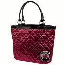 University Of South Carolina Gamecocks Littlearth Quilted Tote Bag Purse