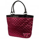 Virginia Tech University Hokies Littlearth Quilted Tote Bag Purse