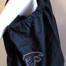 Atlanta Falcons B for Betsy Crystals Canvas Bag Large Purse