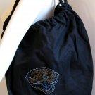 Jacksonville Jaguars B for Betsy Crystals Canvas Bag Large Purse