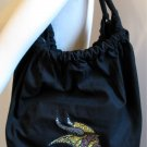 Minnesota Vikings B for Betsy Crystals Canvas Bag Large Purse