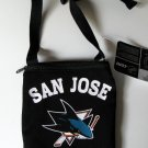 San Jose Sharks Game Day Hockey Jersey Purse Pouch