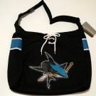 San Jose Sharks Littlearth MVP Hockey Jersey Tote Bag Purse