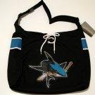 San Jose Sharks Littlearth MVP Hockey Jersey Tote Bag Purse