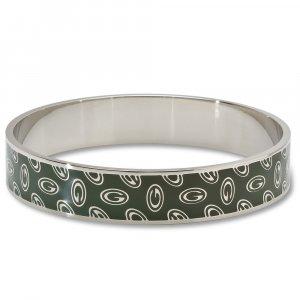 Green Bay Packers Team Enamel Bangle Bracelet