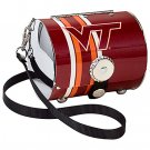 Virginia Tech University Hokies Littlearth Petite Purse Bag