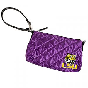 Louisiana State University LSU Tigers Littlearth Quilted Purse Wristlet
