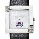 Colorado Avalanche Glamour Ladies Fashion Watch
