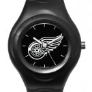 Detroit Red Wings Black Shadow Watch