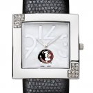 Florida State University Seminoles Glamour Ladies Fashion Watch