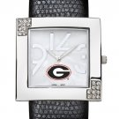 Georgia University Bulldogs Glamour Ladies Fashion Watch