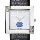 North Carolina University Tar Heels Glamour Ladies Fashion Watch