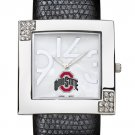 Ohio State University Buckeyes Glamour Ladies Fashion Watch