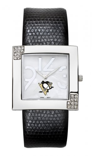 Pittsburgh Penguins Glamour Ladies Fashion Watch