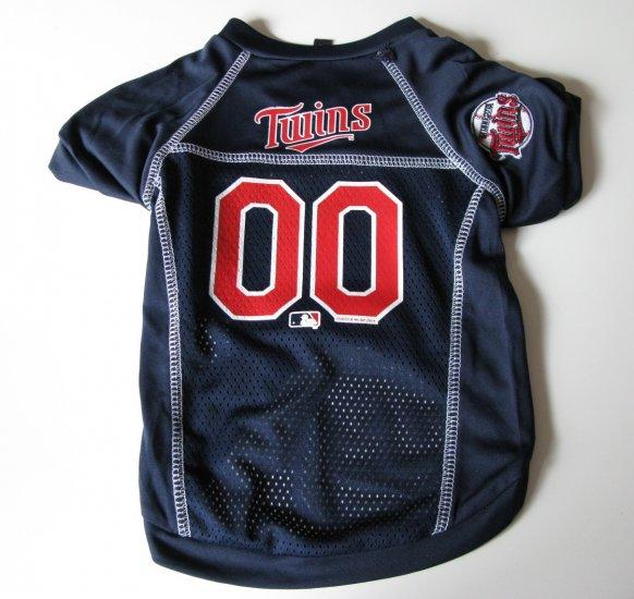 Minnesota Twins Pet Dog Baseball Jersey Shirt Medium