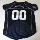 Connecticut University Huskies Pet Dog Football Jersey Large