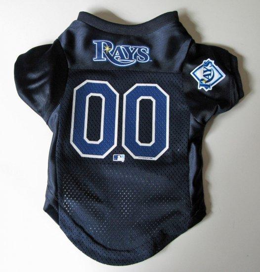 Tampa Bay Devil Rays Pet Dog Baseball Jersey Shirt Premium Gift Small