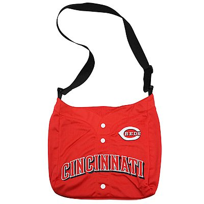 Cincinnati Reds Littlearth Baseball Jersey Tote Bag Purse