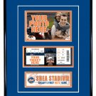 New York Mets Personalized My First Game Baseball Ticket Photo Frame