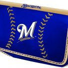 Milwaukee Brewers Baseball Leather iPhone Blackberry PDA Cell Phone Case