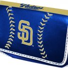 San Diego Padres Baseball Leather iPhone Blackberry PDA Cell Phone Case